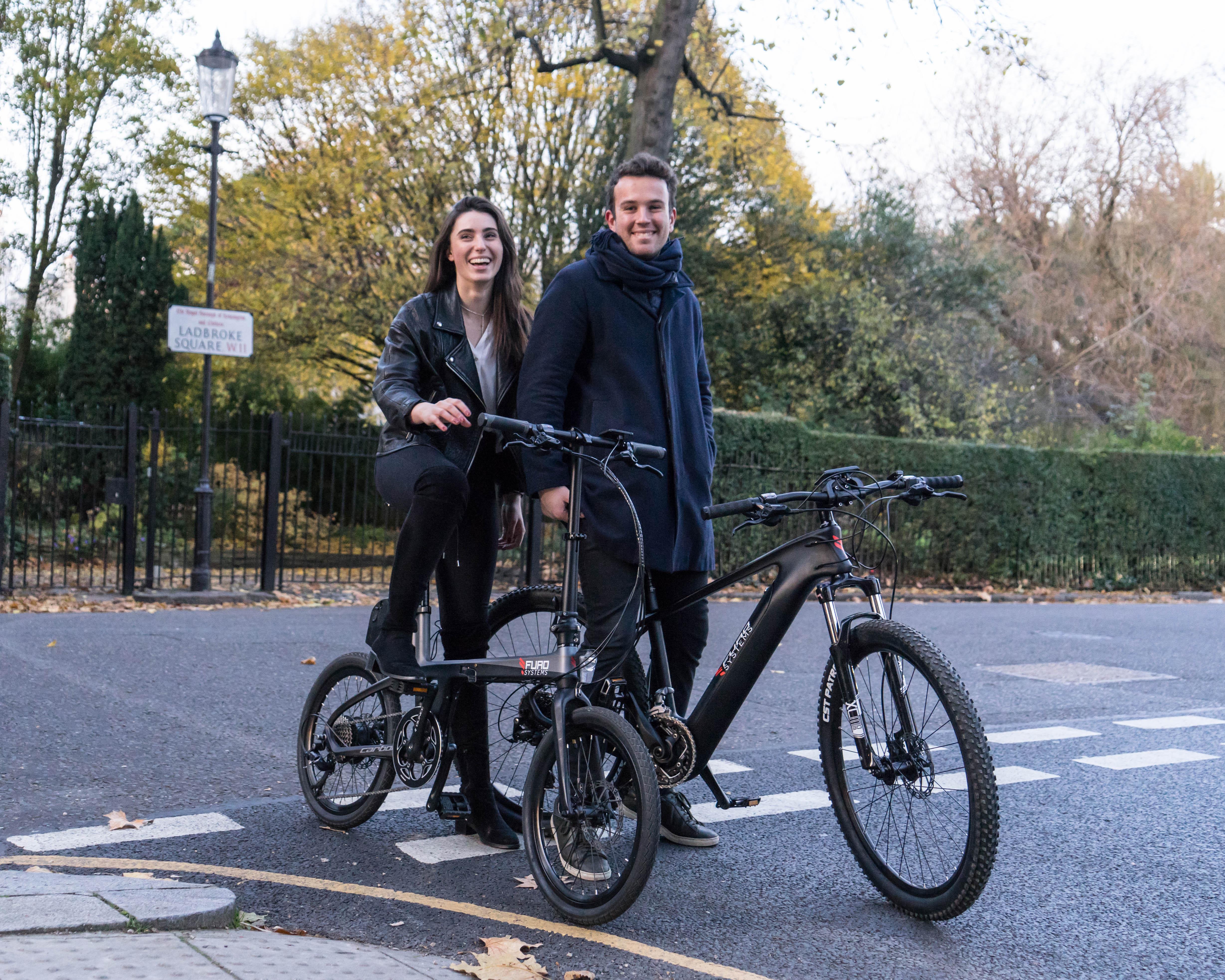 Clients vélos électriques FuroSystems très contents