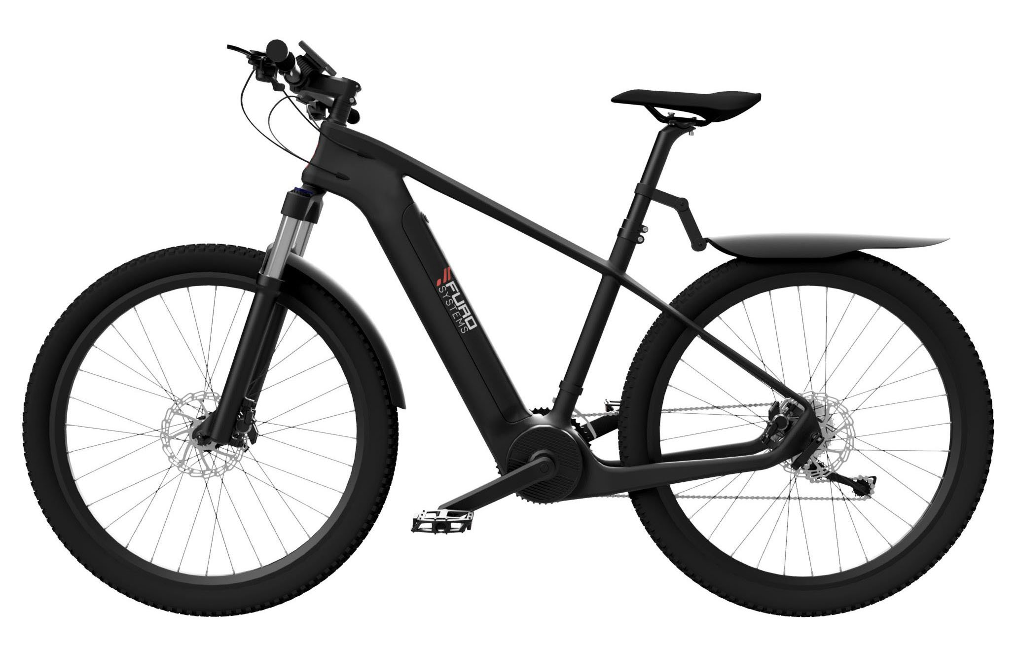 FuroSystems SIERRA Electric Mountain Bike with Accessories