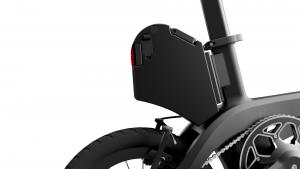 Lithium-ion battery etura Folding electric bike